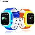 Langtek GPS Сенсорный Экран WI-FI Позиции Smart Watch Q90 Детей SOS Вызова Расположение Finder Трекер Малыш Сейф Анти Потерянный Монитор