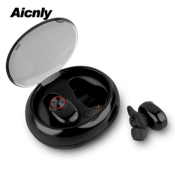 2018 V5.0 Tws Earbuds Bluetooth 4.2 Stereo Wireless Earphones With Qi-enabled Charging Case Ipx6 Waterproof Sport Mini Headset