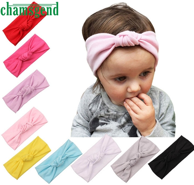 Hot Headbands For Baby Winter Sports Headband Head Wrap Wide Yoga Hairband  Kids Girls Turban Elastic 16cc035df