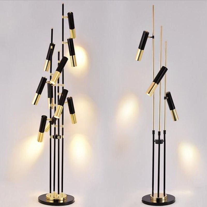 Post-modern minimalist LED floor lamp bedroom study parlor room hotel cafe clothing store floor lamp led lighting fixture floor цена 2017