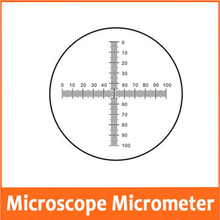 0.1MM DIV Glass Stage Eyepiece Objective Lens Slide Scale Measuring Microscope M
