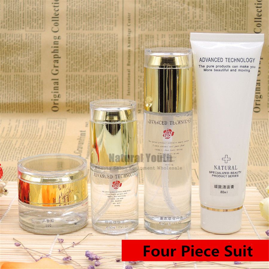 4pcs Set Aloe Vera Gel Skin Repair Set Oil-control Repair Acne Lavender Toner Skin Care Kit4pcs Set Aloe Vera Gel Skin Repair Set Oil-control Repair Acne Lavender Toner Skin Care Kit