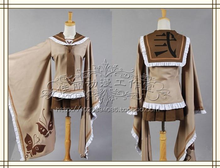 VOCALOID senbonzakura Kagamine Rin  cosplay costume custom any size