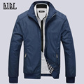 New 2017 Spring Mens Casual Business Jacket Fashion Loose Men's Bomber Jacket Men Jackets And Coats Plus Size Veste Homme,UMA346