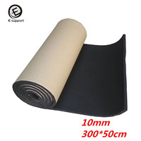 EE Support 2Roll Automotive Sound Proofing Deadening Vehicle Insulation 10mm Close Cell Foam Car Interior Accessories