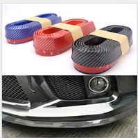 Universal Car Front/Rear/Side Skirt Bumper Lip Rubber Protector For Mercedes Benz A200 A180 B180 B200 CLA GLA AMG C CLS CLK GLK