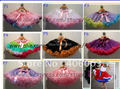 premium pettiskirt girls chiffon fluffy  dance pettiskirts tutu princess