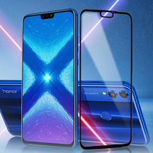 Screen Protector For HUAWEI Honor 7A Pro Tempered Glass for Honor 8x 8c 6c 7c pro 7x 8a Protective Glass 2.5 Edge Full Coverage protective glass red line for huawei honor 6c pro full screen 3d white