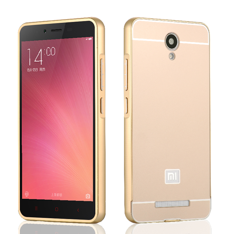 Luxury Cover For Xiaomi Redmi Note 2 Prime Case In 1 Metal Bumper PC Back Board Hongmi Red Rice Note2 Phone Shell Stock On Aliexpress