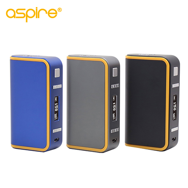 Electronic Cigarette Mods Aspire Archon 150W TC Box Mod Temperature Control Vape Mod 18650*2 (not include) Newest jtc 150w tc box mod olcd temperature control vaporizer vv vw 7 150w vape mod electronic cigarette mod for sub ohm tank jomo 102