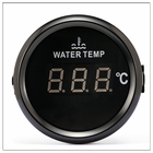 Digital Temperature Gauge For Car Thermometer 52 MM round mini Water temp Meter Indicator Car Boat With Back light turbo boost