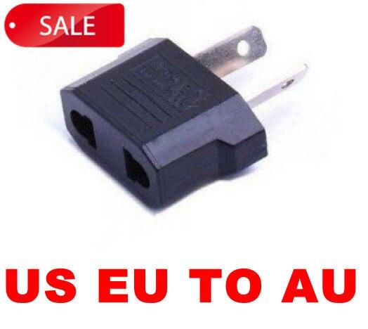 US EU TO AU, AC Power EU Plug Travel  PLUG Adapter for Australia AU SPPS002