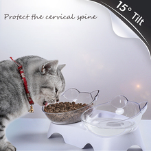 Cats Double Bowls With Raised Stand Pet Food And Water Bowl Feeder Non Toxic Corrosion Resistant Durable Supplies