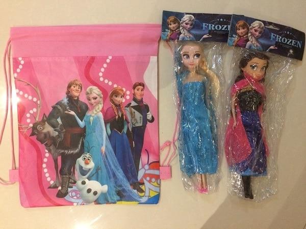 Children's Cartoon bag bolsa Drawstring Bag Backpack shopping Bag