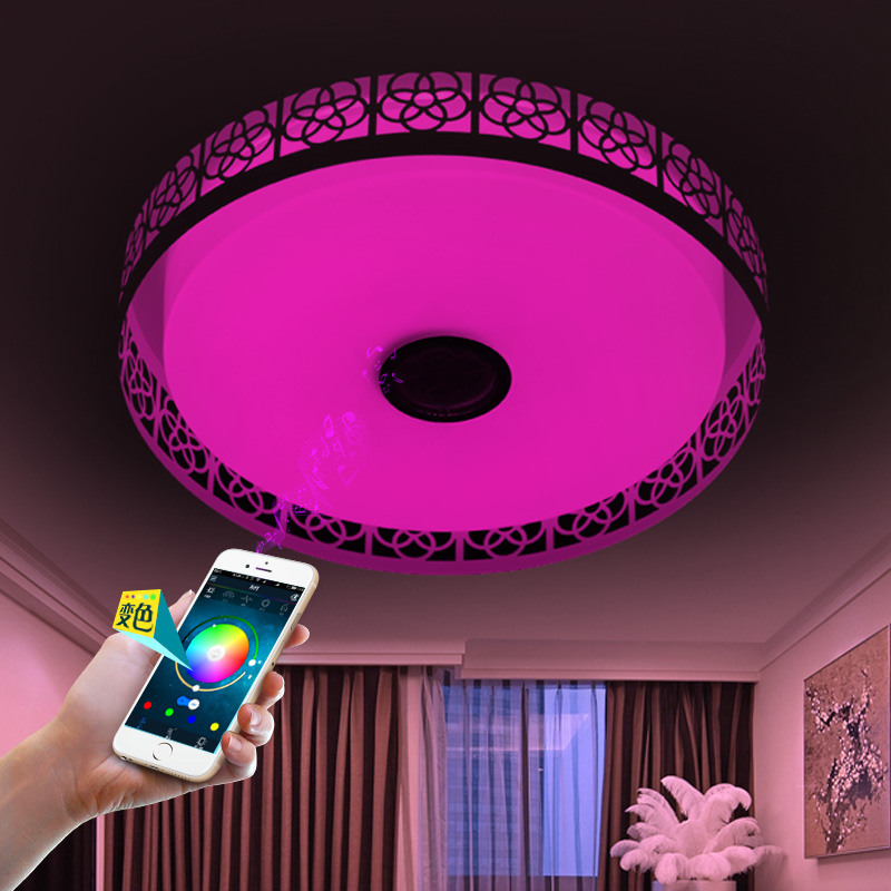 bluetooth led Ceiling Lights For Indoor Lighting led music Ceiling ...