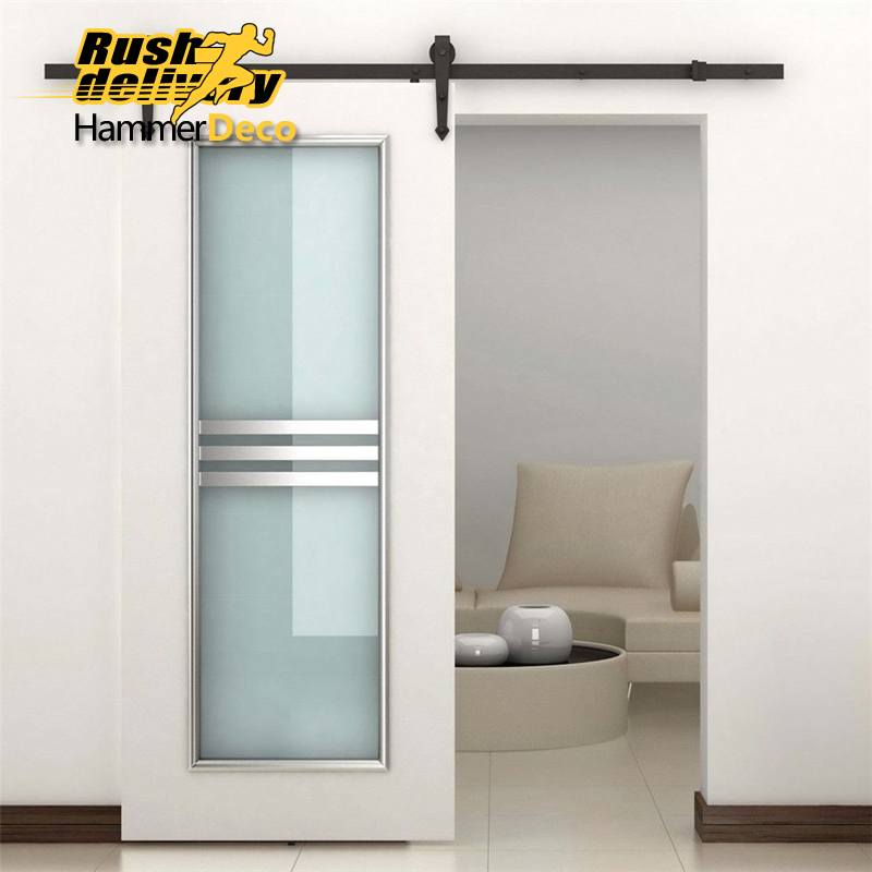 HAMMERDECO 1500mm To 2500mm Cheap And High Quality Wholesale Decorative Door  Sliding System Sliding Door Kits In Doors From Home Improvement On ...