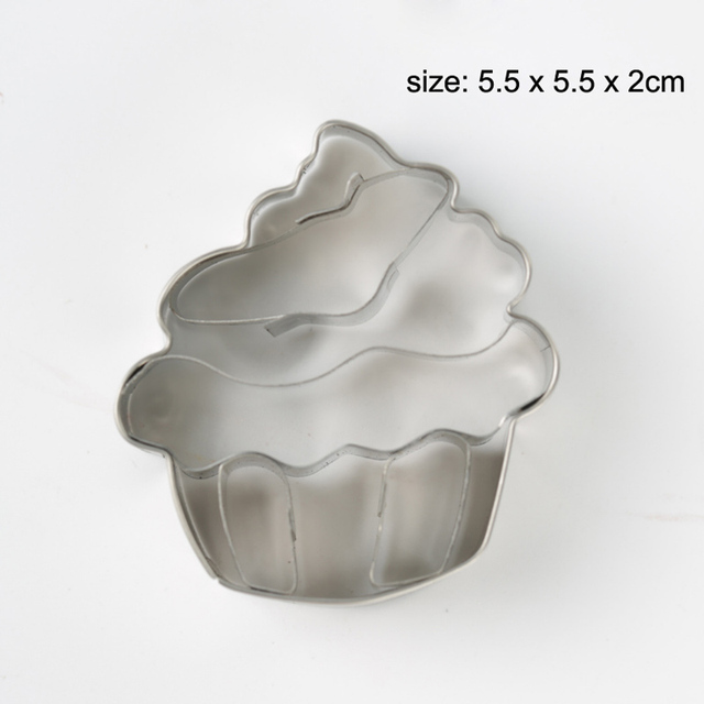 3PCS Foot Metal Cookie Cutter Biscuit Pastry Fondant Baby Shower Party Stencils