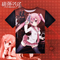 Japanese Anime Aria the Scarlet Ammo T-shirt Polyester T Shirt Summer Active Animation Men Women Clothes