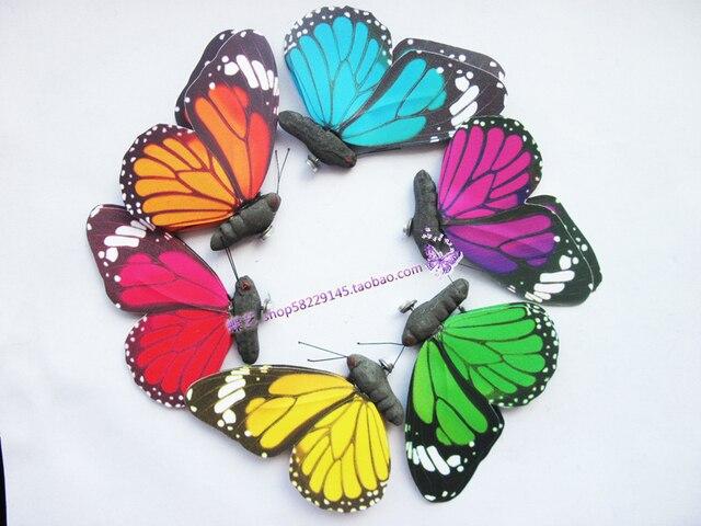 Stuks cm kleuren d muur stickers vlinder kinderen meisje