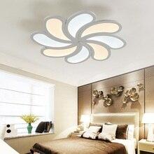 free shipping LED flower-style living room light restaurant balcony children's room modern minimalist ceiling lamp AC85-265V