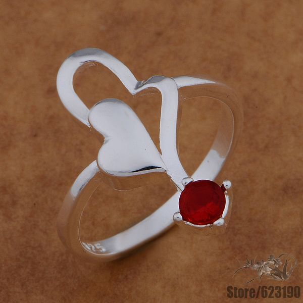 Playing Cards ring for men women  925 Sterling silver ring  Purple /& red zircon ring  Engagement ring  Cool statement ring  Open ring