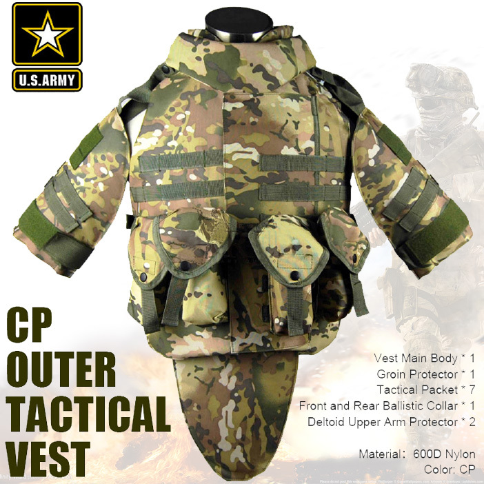 US Army CP camouflage tactical vest 600D nylon molle military cs paintball vest combat vest us army cp camouflage tactical vest 600d nylon molle military cs paintball vest combat vest