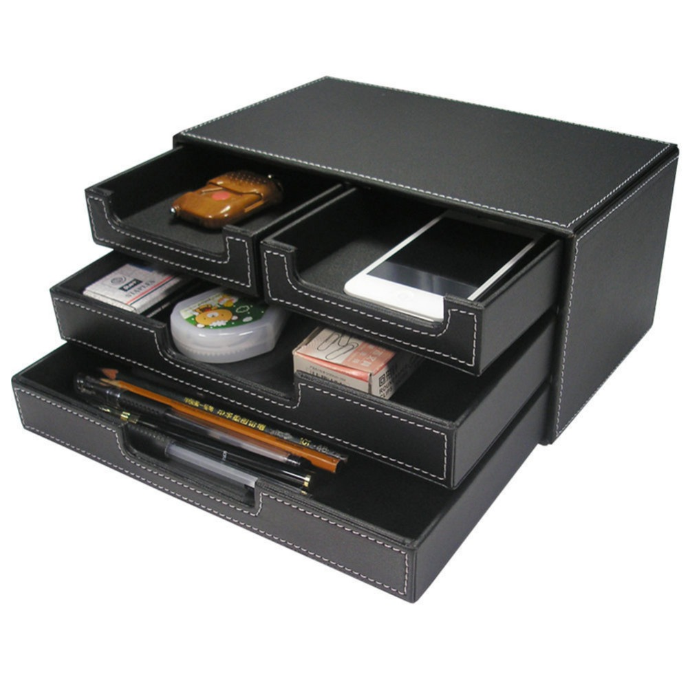 Aliexpress.com : Buy 3 Layer Drawers Stationery Storage Drawer Desktop Sundries Organizer Box ...