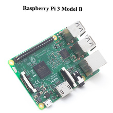 Discount! 10Set/lot Original UK Made Raspberry Pi 3 Model B 1GB RAM Quad Core 1.2GHz 64bit CPU WiFi & Bluetooth