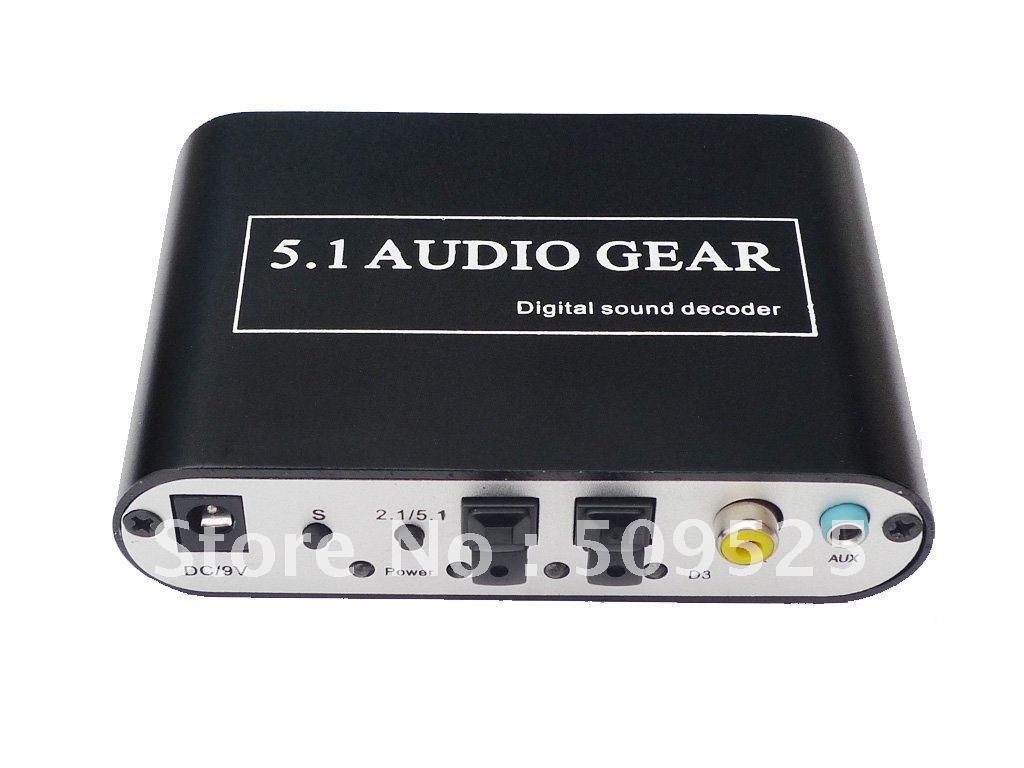 digital audio converter 5 1 channel dts ac 3 6ch digital surround sound audio decoder free. Black Bedroom Furniture Sets. Home Design Ideas
