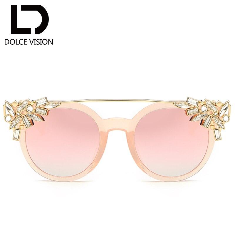 5b3f7cf6bc1469 DOLCE VISION Steentjes Decoratie Zonnebril Dames Elegante Shades Fashion  Ontwerp Cat Eye Zonnebril Vrouwen Hoge Kwaliteit Oculos in DOLCE VISION  Steentjes ...