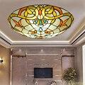 Светодиодные потолочные светильники для спальни в стиле барокко  потолочные лампы для 3-10 квадратных метров в стиле Луи Xiv  современные свет...