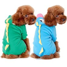 The dog dog clothes qiu dong Pet dinosaur change to pack More color hot style