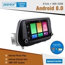 Android 9.0 8.0 Lettore DVD Dell'automobile Per Hyundai Santa FE 2019 2018 Tucson 2019 IX 35 AutoRadio unità di testa Macchina GPS per auto Multimediale