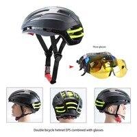 Goggles Fietsen Helm Insect Netto Mountain MTB Racefiets Fietshelmen 2017 Fietshelm Met Lens zwart en groene kleur