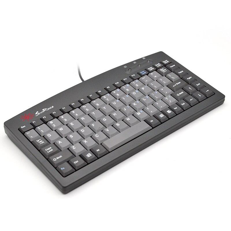 SUNROSE PS2/interface USB clavier industriel contrôle petit clavier CNC machine-outil clavier externe