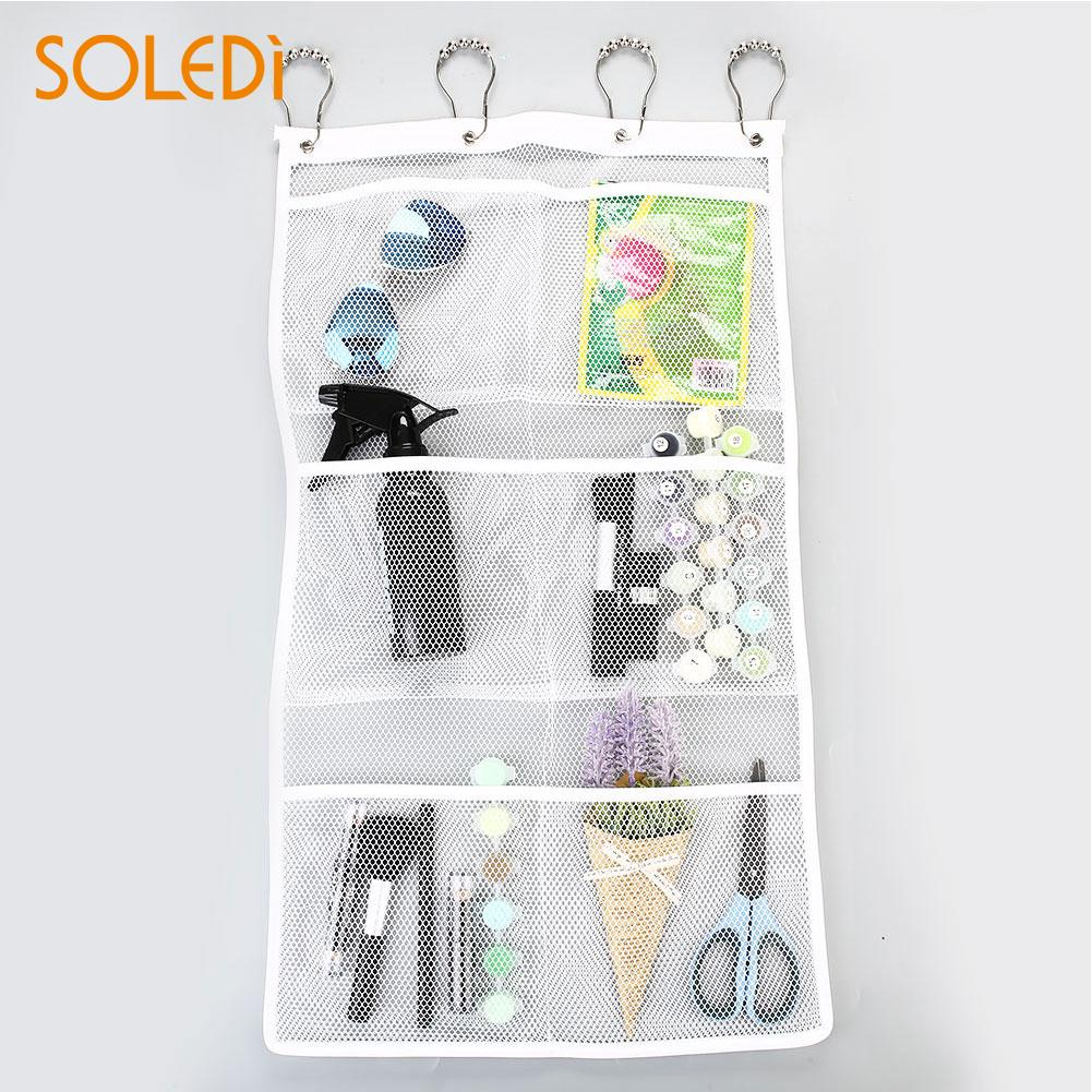 Toy Bath Bathroom Storage Hanging Bag Net Gridding Stuff Organizer Mesh Bathtub