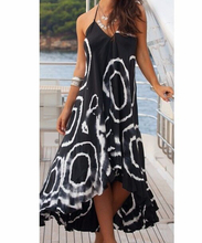 Купить с кэшбэком Women Summer Summer Halter Beach Dresses Long Maxi Dress Sundress Swimwear Beachwear Cover-ups