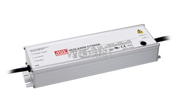 MEAN WELL original HLG-240H-C700A 178 ~ 357V 700mA  HLG-240H-C 249.9W LED Driver Power Supply A type Waterproof IP65