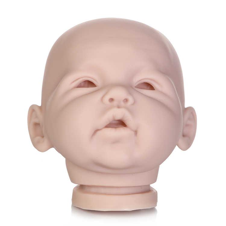 Reborn doll kit Adeline by Ping Lau limited edidtion реалистичные, из мягкого силикона винил настоящий нежный сенсорный дешевый Неокрашенная кукла части
