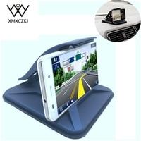 Nieuwe Universal Sticky Autohouder Dashboard Desktop Mount Anti Slip mobiele Stand Voor Tablet GPS Met Slangklem