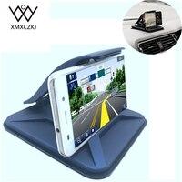 Nueva Universal Soporte para Coche Dashboard Sticky de Escritorio Montaje de teléfono móvil Antideslizante Soporte Para la Tableta del GPS Con Pinza de Resorte
