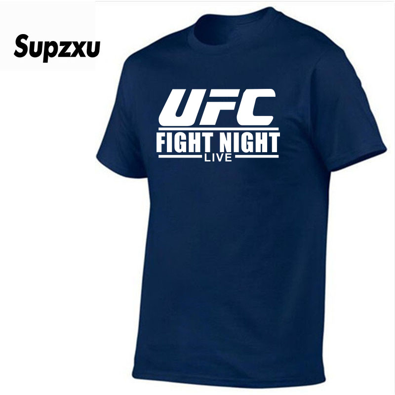 Brand Mens Ultimate Fighting   T  -  Shirts   Summer cotton Short Sleeve   T     Shirts   casual Tee   Shirts   Male   T     shirt   Homme UFC Men's   t  -  shirt