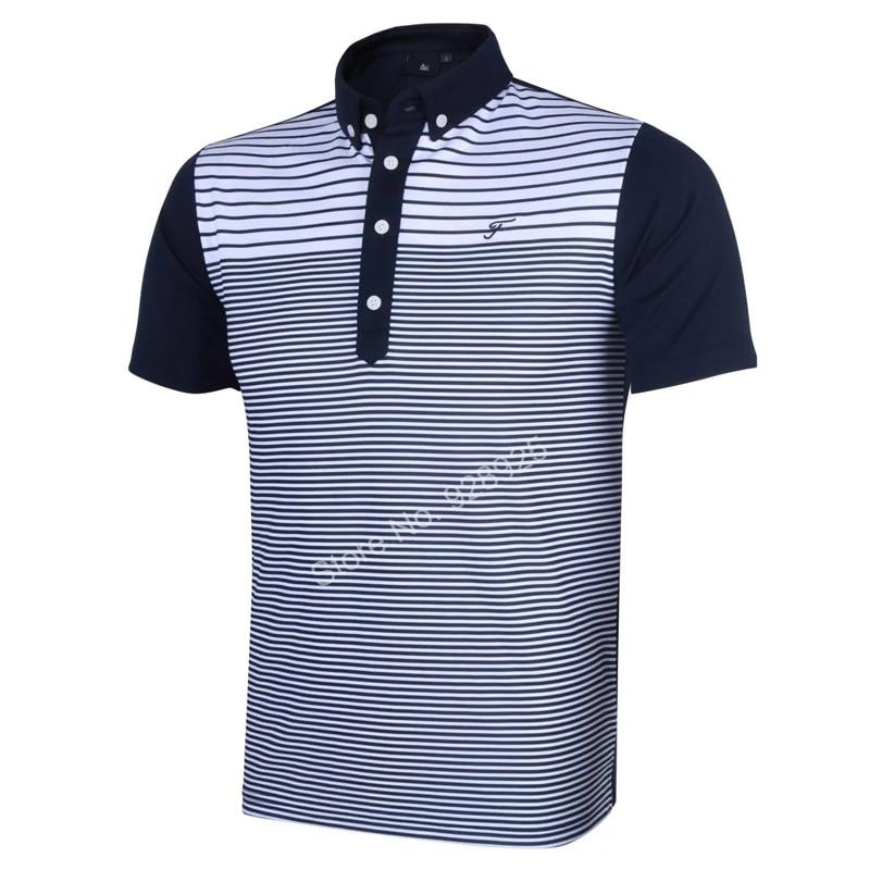 Brand T Shirt Men Golf Shirts Summer Golf Training Garment