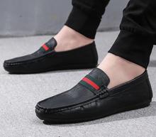 Homens Casuais de Couro de Condução Mocassins masculinos zapatos hombre Mocassins Gommino mocassim Mens vestido oxford Shoes chaussures hommes en cuir