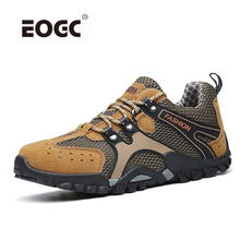 New Comfort Suede Leather Casual Shoes Breathable Outdoor Hiking Plus Size Autumn Walking Men