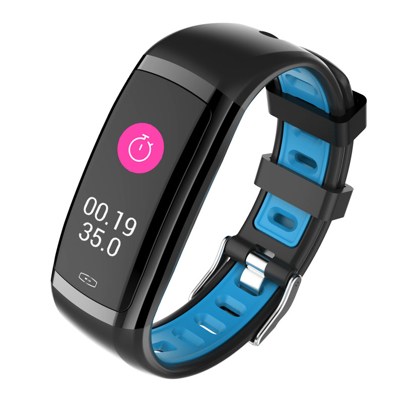 Tragbare Geräte Intelligente Armbänder GüNstiger Verkauf 696 Cd09 Smartbracelect Colorscreen Armband Frauen Fitness Herzfrequenz-monitor Buy One Give One