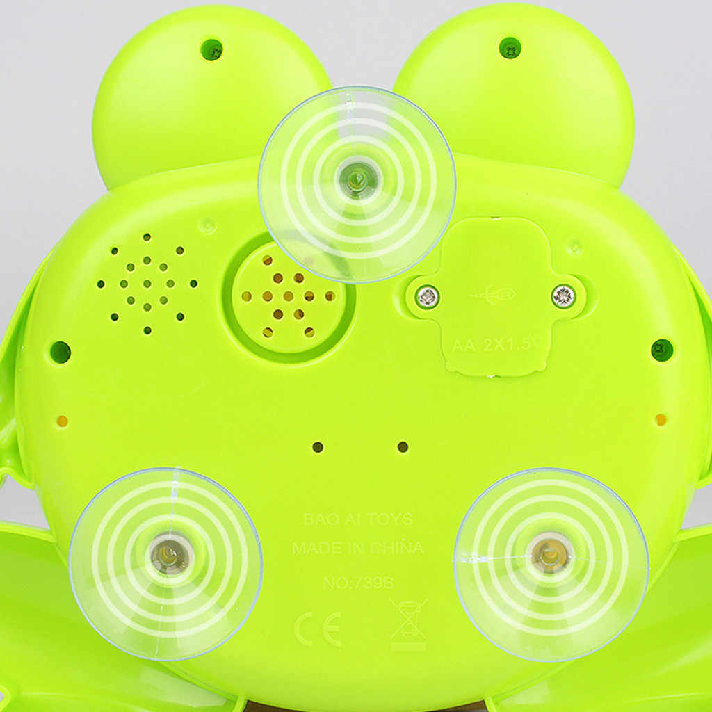 HIINST Music Toys For Children Bubble Maker Cute Animal Big Frogs Automatic Bubble Machine Blower Toys For Kids