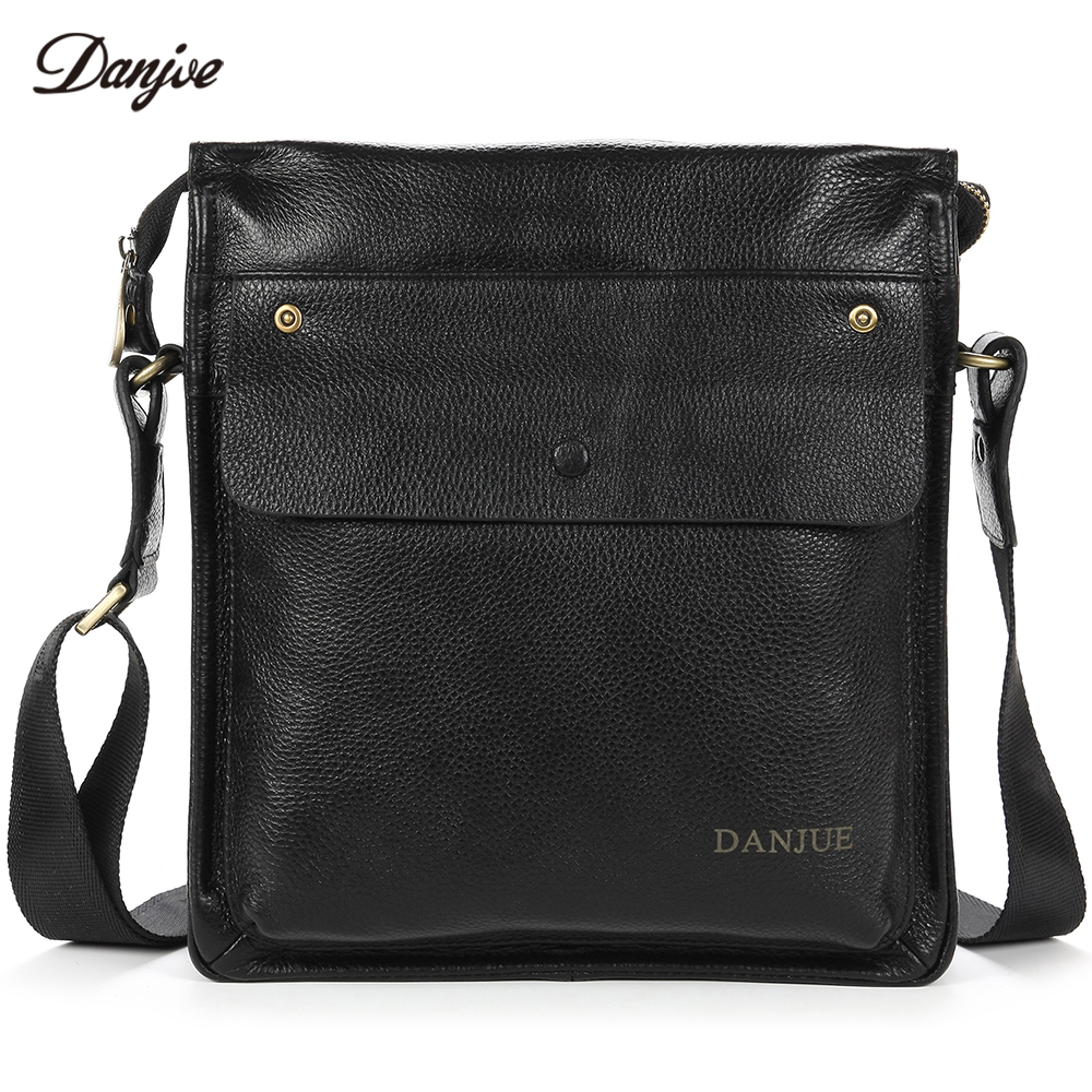 DANJUE Men Messenger Bag Genuine Leather Male Crossbody Bag For Business Waterproof Carry Everyday Objects Daily BagDANJUE Men Messenger Bag Genuine Leather Male Crossbody Bag For Business Waterproof Carry Everyday Objects Daily Bag