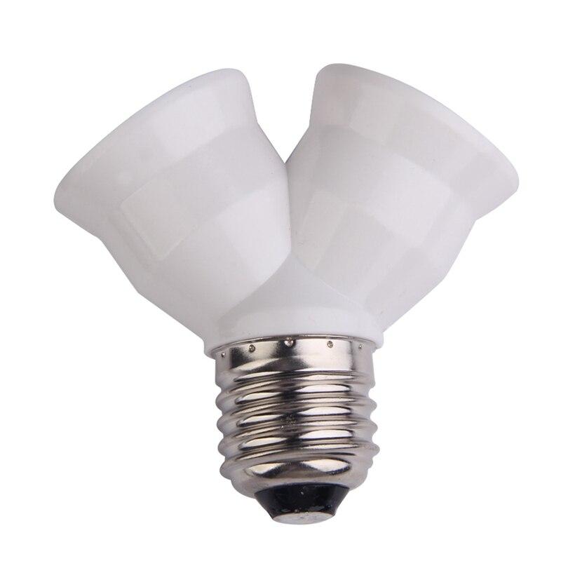2-in-1-e27-y-shape-lamp-base-fireproof-material-holder-converter-socket-light-bulb-splitter-adapter-light-bulb-base-holder