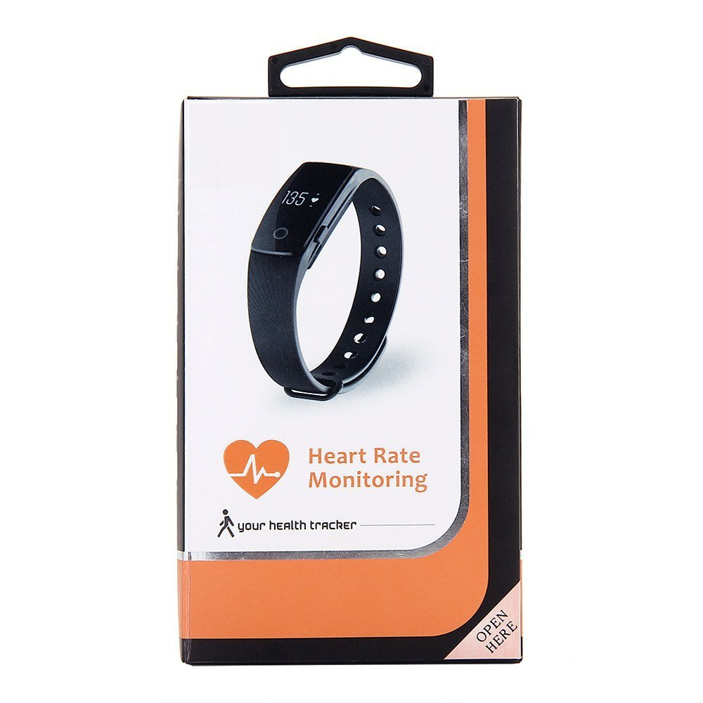 ID107-ID-107-Heart-Rate-Monitor-Smart-Wristband-Black-Orange-Green-Blue-Purple-Armband-Step-Counter